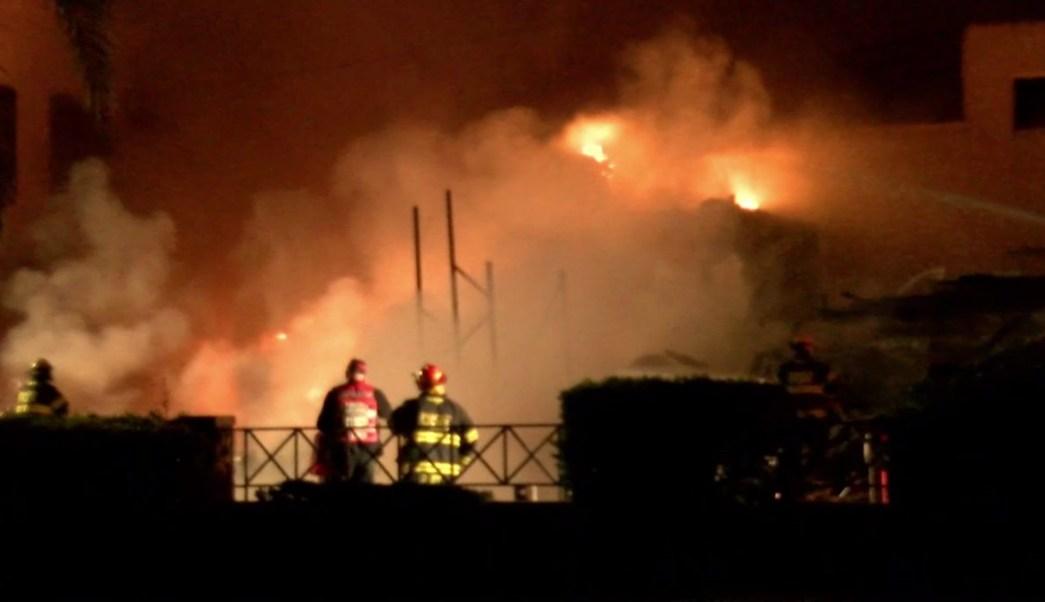 Explosión destruye edificio y deja cinco heridos Israel
