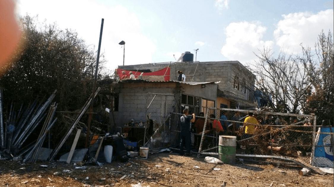 Explosión de pirotecnia en Tultepec deja tres heridos