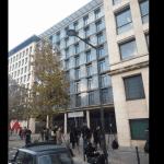 Fachada de la Fiscalía belga en Bruselas