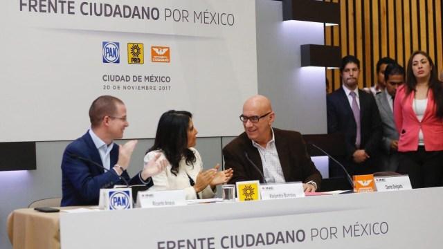 Frente Ciudadano manifiesta ante el INE intención de ir en coalición