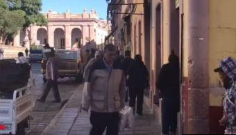 Frente frío provoca temperaturas bajo cero en Zacatecas