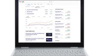 Google lanza herramienta para consultar información financiera