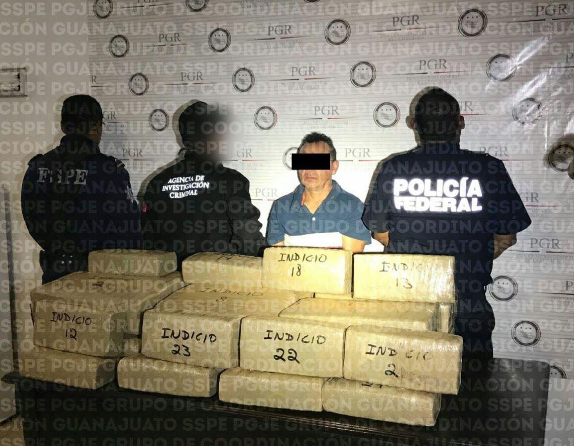 Morelia: Lo detienen con cargamento de marihuana en la Salamanca