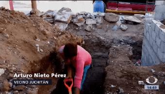 Hacen Falta Albañiles Oaxaca Reconstrucción Avanza