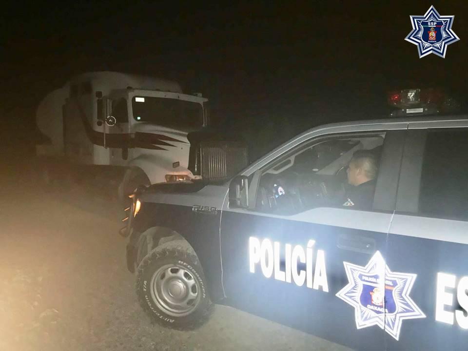 Hallan pipa cargada con hidrocarburo en Oaxaca