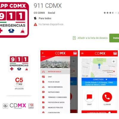 Alerta sísmica sonará en app 911 CDMX sólo si un temblor puede ocasionar daños