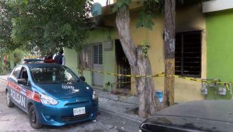 Investigan venta clandestina de pirotecnia en casa Monterrey