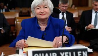 Expansión económica es vez más general en Estados Unidos, dice Yellen