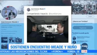 José Antonio Meade Aurelio Nuño Sostienen Encuentro