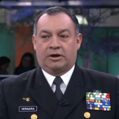 El almirante José Luis Vergara