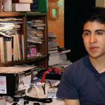La escuela de Andrés González resulta afectada por el sismo del 19 de septiembre, sin embargo, participó en la Olimpiada de Robótica en Costa Rica . (Noticieros Televisa)