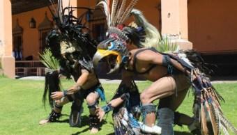 Realizan en Hidalgo el segundo torneo nacional de juego de pelota prehispánico
