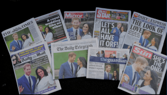 La noticia del compromiso ofical entre Enrique y Megan acaparó las portadas