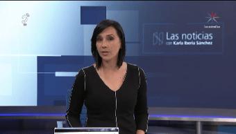 La Noticias, con Karla Iberia Programa del 13 de noviembre de 2017
