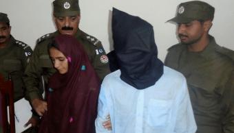 La paquistaní Asiya Bibi y su amante fueron arrestados