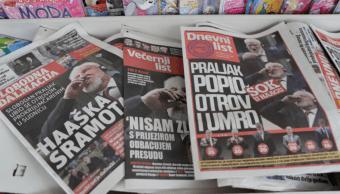 La prensa en Bosnia publica las imágenes del envenenamiento