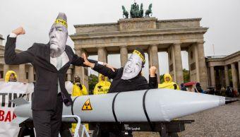 Senado Estados Unidos cuestiona poder presidencial lanzar ataques atómicos