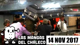 Las Mangas del Chaleco El ataúd que viajó en el metro y más