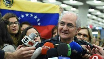 almagro habla con ledezma fuga venezuela