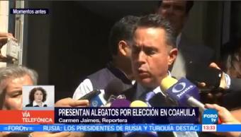 Pan Presenta Alegatos Tepjf Anular Elección Coahuila