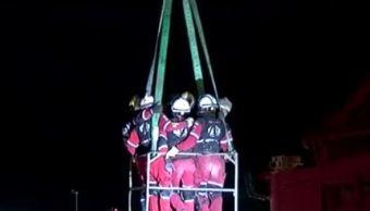 Encuentran cuerpo de mujer desaparecida tras derrumbe en Monterrey, Nuevo León. (Twitter/@_LASNOTICIASMTY)