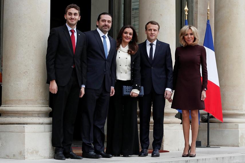 Primer ministro libanés acepta oferta de Macron de viajar a Francia