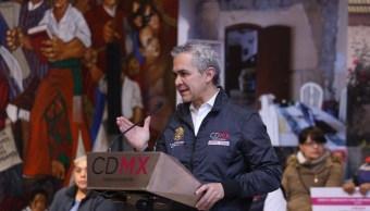 mancera pide aclarar castigo fondo capitalidad cdmx