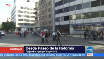 Manifestantes Retiran Protestas Cdmx Varias Horas