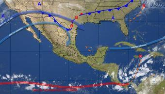 mapa con el clima para este 16 de noviembre
