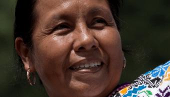 María de Jesús Patricio, aspirante indígena a una candidatura presidencial independiente