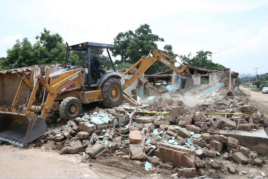 Foto: Avanza reconstrucción de viviendas tras sismo de 8.2 grados en Chiapas. Notimex