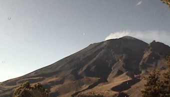 Monitoreo del volcán Popocatépetl 13 de noviembre de 2017