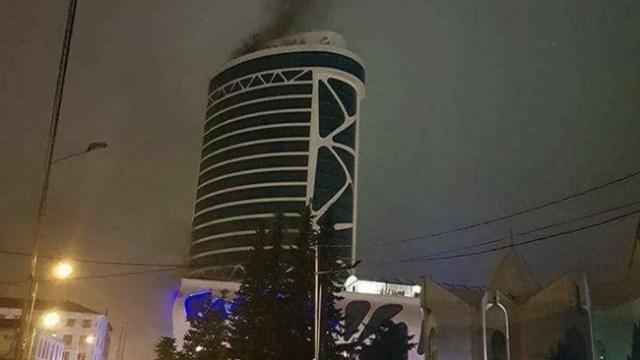 Mueren doce personas incendio hotel Georgia