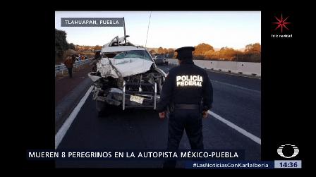 Mueren Once Peregrinos Accidentes Madrugada