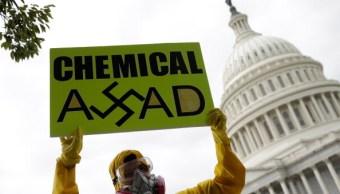 ONU votará resolución uso armas químicas Siria
