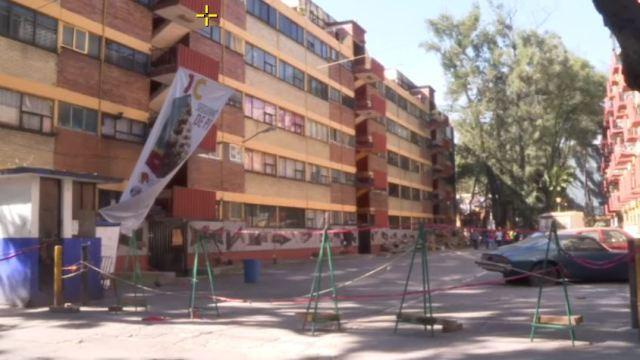 Damnificados por sismo del 19S, en espera de dictámenes estructurales en Tlalpan