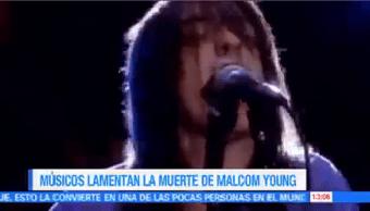 Músicos Lamentan Muerte Malcolm Young Muerte