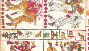 Nahuales en el Códice Borgia