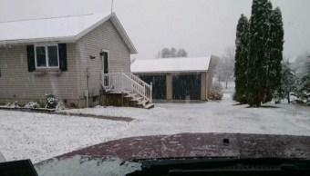 Cae la primera nevada de la temporada en Pennsylvania