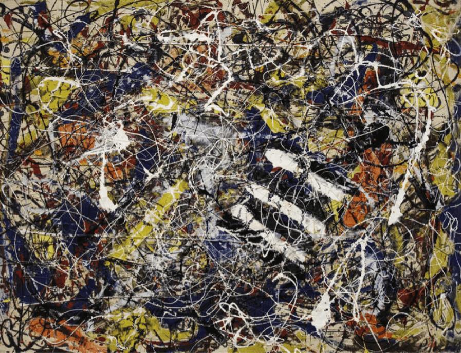 'Number 17A', de Jackson Pollock