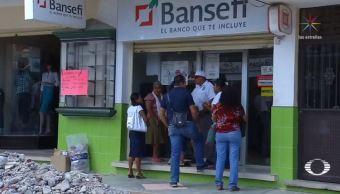 Persiste la clonación de tarjetas de ayuda a damnificados en Oaxaca
