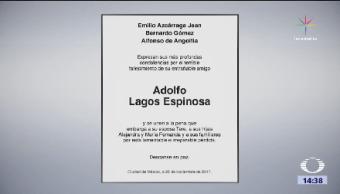 PGR Investiga Homicidio Adolfo Lagos Director General Izzi