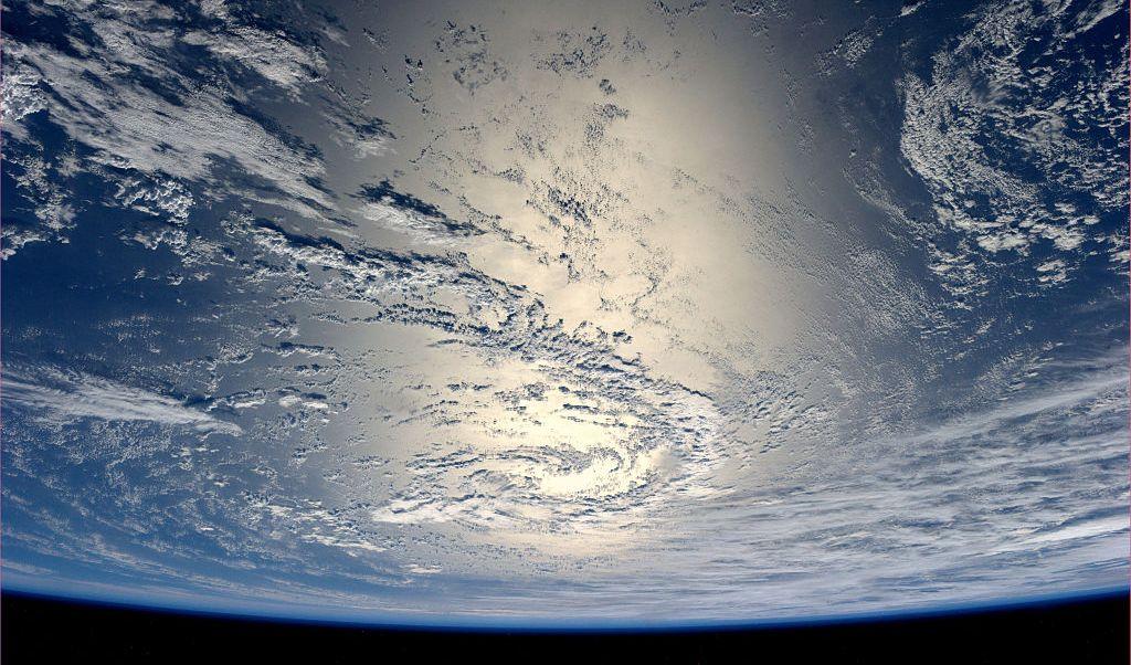 Fotografía de la Tierra desde el espacio