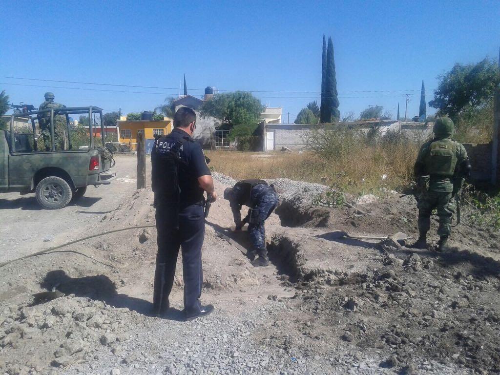 Aseguran tanque con combustible robado en Guanajuato