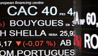 Principales Bolsas europeas operan con alzas moderadas