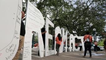 Protesta a favor de dreamers en Miami, Florida