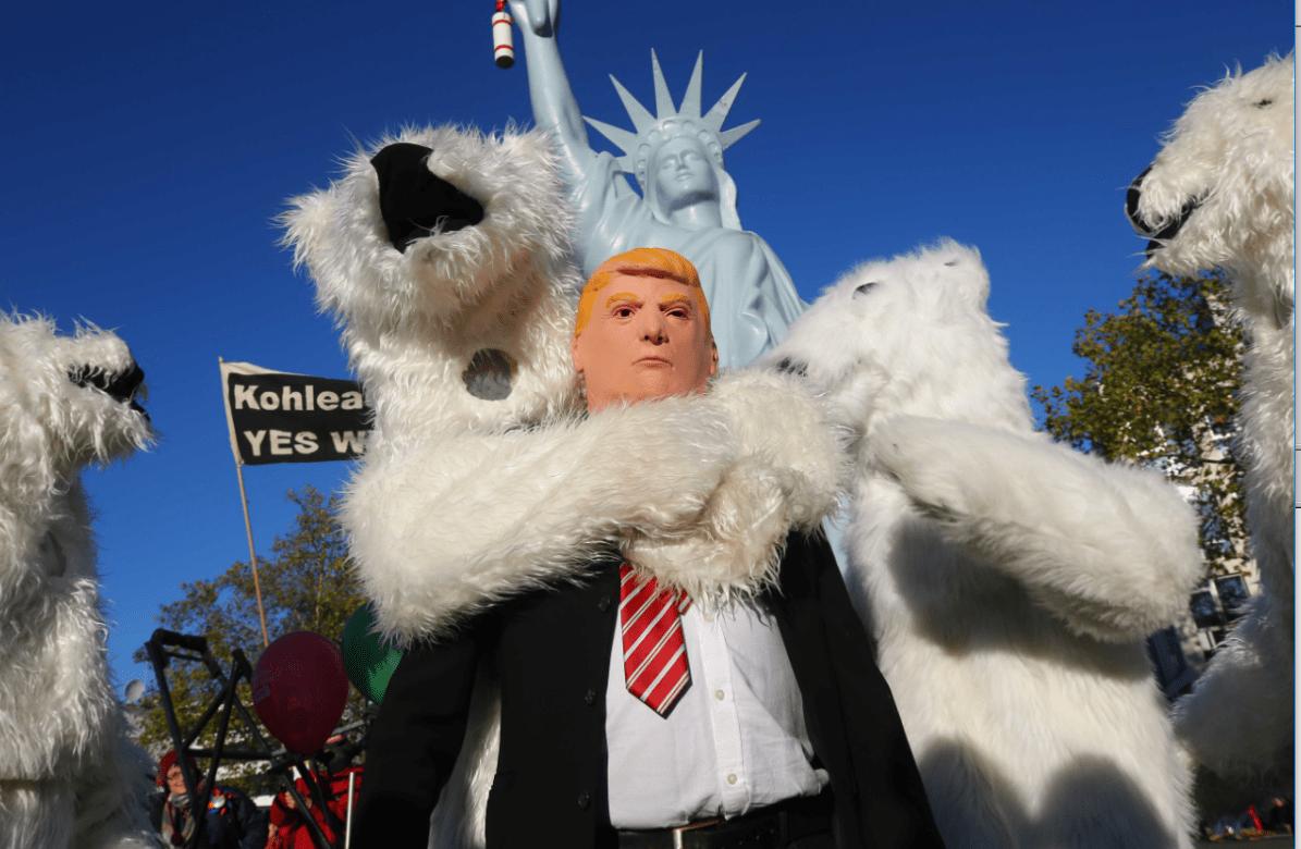 Protestas contra Trump previas a la cumbre del clima en Alemania