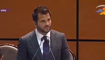 Rafael Pacchiano comparece ante la Cámara de Diputados