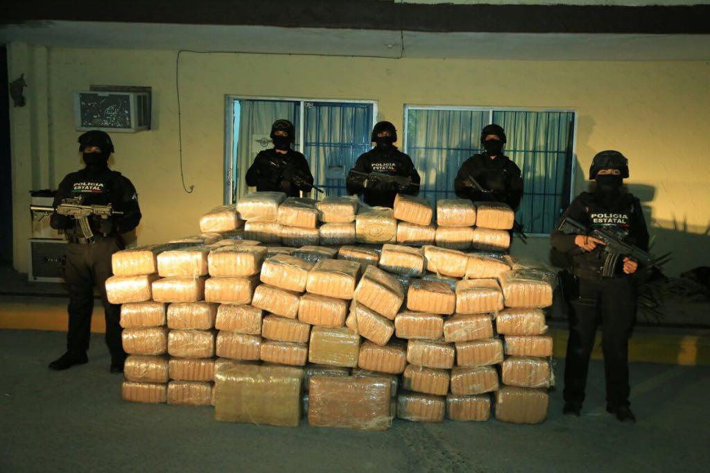 Realizan decomiso histórico de marihuana en Tamaulipas