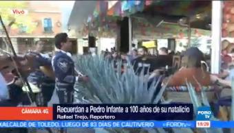 Recuerdan Pedro Infante100 Años Natalicio Plaza Garibaldi